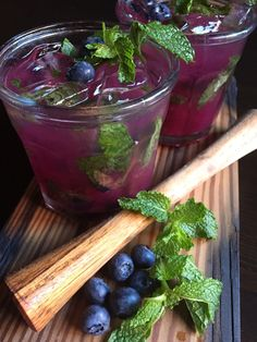 Blueberry mango mojitos have been my cocktail of choice this summer. I first tried them at Cafe Deluxe in Cleveland Park, where they are served in tall 20 ounce glasses. I just had to …