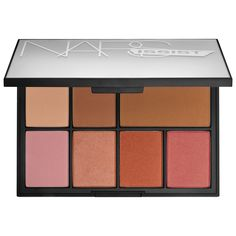 Shop NARS' Cheek Studio Palette at Sephora. It has four blushes, a bronzer, and a contouring blush to bring a pop of color to cheeks.
