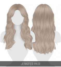 JENNIFER HAIR + TODDLER & CHILD by Simpliciaty for The Sims 4