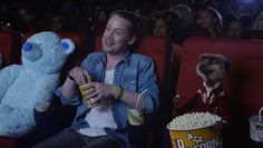 Comeback: And though the Adam Green's Aladdin actor admitted he'd be 'game for' a serious acting role, this month he had fun playing a hitchhiker in adverts for price comparison website, Compare the Meerkat