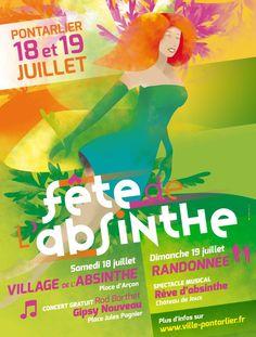 Fête de l'Absinthe à Pontarlier Absinthe, Concert, Grinch, Vintage Posters, Renaissance, Press Release, Poster Vintage, Recital, Concerts