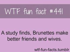 I'm brunette