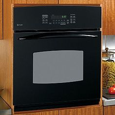 "GE Profile 27"" wall oven with convection and timed bake!"