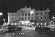 CAGLIARI - Stazione Centrale - Primi anni '60