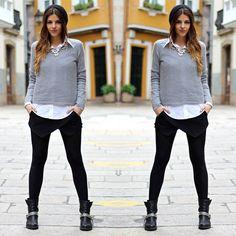 #stealthelook #look #looks #streetstyle #streetchic #moda #fashion #style #estilo #inspiration #saia #calça#camisa #gorro #beanie #sueter #coturno