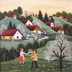 Mariana Mihut-Flores de los arboles