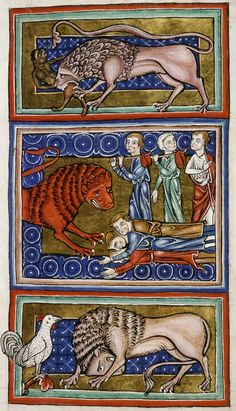 Medieval Bestiary : Lion Gallery