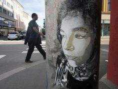 Street artist C215´s work in Oslo (3)