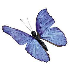 """Déco Papillon déco """"Argus bleu"""" 17 cm & Décoration chez DecoWoerner"""