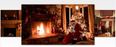 Cool Santa apps: Place Santa in your own living room with the Kringl app. Your kids will freak out