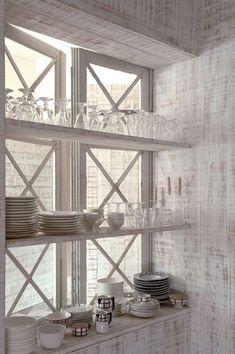 Glass shelves...even better!