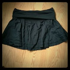 NWOT Black express skirt Never actually wore it anywhere, just tried it on a few times. Excellent condition express skirt. Express Skirts Mini