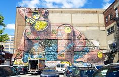 Mural Festival 2016 – All the creations from the street art festival of Montreal (image)