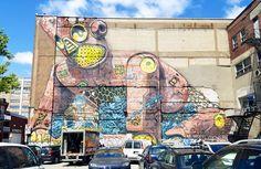 Mural Festival 2016 – Toutes les créations du festival street art de Montréal (image)
