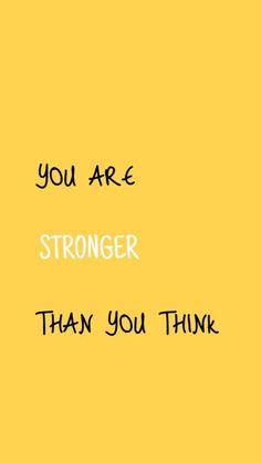 Você é mais forte do que pensa. #motivacional #superação #forte