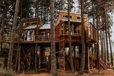 Treehouse on the Water -Eagles Nest-20 ft high - Treehouses for Rent in Port Angeles, Washington, United States Treehouse Cabins, Treehouses, Hammock In Bedroom, Crescent Lake, Port Angeles, Hotel Stay, Olympic Peninsula, Fire Pit Backyard, Heating And Air Conditioning