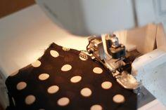 Coletterie |Costura francesa con ayuda de la overlock