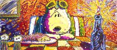 "i have always been drawn to tom everhart's ""the last supper, (no more scones for roy) since 1998 when he released it"