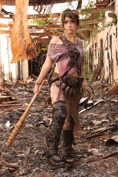 Fallout: War Never Changes Post Apocalyptic Costume, Post Apocalyptic Fashion, Steampunk, Wasteland Warrior, After Earth, Dystopia Rising, Dystopian Fashion, Wasteland Weekend, Dieselpunk