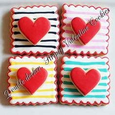 fun valentines cookies