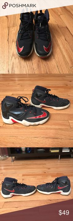 0b019050ab74 LeBron 13 Boys Sneakers Size In very good condition LeBron Navy blue