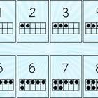 This file contains 11 sets of number cards. Each set has a different back ground and includes numbers 1-20 with tens frame, , , +, -, x, /,...