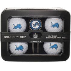Detroit Lions 2016 4 Golf Ball and Divot Tool Set