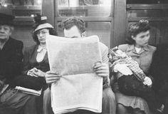 La Metro di New York nel 1946 fotografata da Stanley Kubrick 13