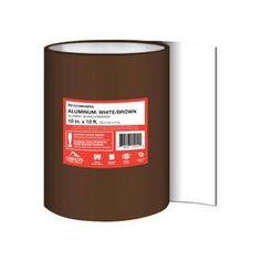 Best Peak Aluminum Fascia Cover Brown 1 Inch X 8 Inches X 640 x 480