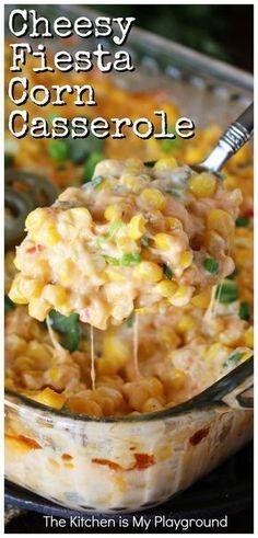 Side Dish Recipes, Veggie Recipes, Mexican Food Recipes, New Recipes, Vegetarian Recipes, Cooking Recipes, Favorite Recipes, Recipes With Corn, Healthy Recipes