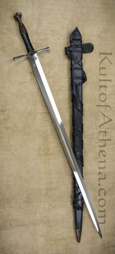 The Marquis - Late Medieval Sword with Integrated Belt