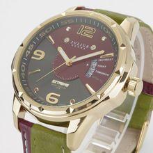 11252e79513 2016 nova Julius marca de Moda homens esportes relógios de quartzo Pulseira  de Couro genuíno dos