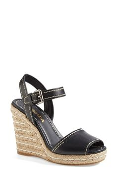 Prada+Espadrille+Sandal+(Women)+available+at+#Nordstrom