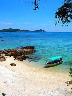 Pulau Perhentian Besar, a small island off the east coast of Peninsular Malaysia