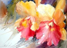 Fábio Cembranelli - A Painter's Diary: Orchids 1