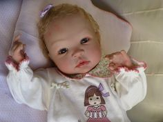 Reborn baby doll Isabella for adoption