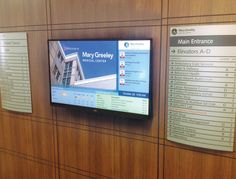 ARREYA Digital Signage Software powering the new display at Mary Greeley Medical Center.
