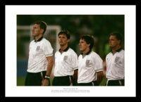 England Legends 1990 World Cup Photo Memorabilia