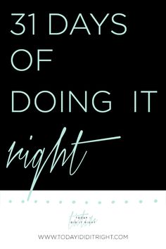 Exercise Two: 31 Days of Doing It Right will guide you through 31 actionable items to get you used to the TODAY I DID IT RIGHT™ Approach and doing it right lifestyle. Daily Journal Prompts, Daily Writing Prompts, Journal Entries, Writing Inspiration, Journal Inspiration, Journal Ideas, Creative Journal, Writing Exercises, Life Plan