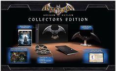 """La sortie de Batman Arkham Asylum en 2009 fit l'effet d'une bombe dans l'univers des adaptations ludiques de super-héros. Sombre et magnifiquement réalisé par Rocksteady, le lancement s'est accompagné d'une édition collector donnant envie de se prendre pour le Chevalier noir en lançant son batarang à travers son salon. Visuellement très belle, de par son coté une peu """"plastoc"""", la qualité dudit gadget n'était hélas pas vraiment au rendez-vous."""