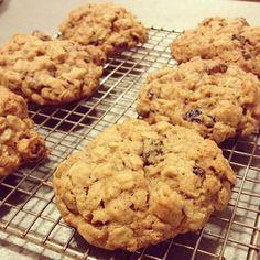 The Best Chewy Oatmeal Raisin #Cookies #Recipe - Bites & Bourbon #oatmealraisin