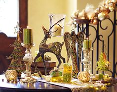The Enchanted Elegance Christmas Collection #candles