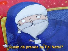 Quem da prenda ao pai natal by Ana Moreira via slideshare Disney Characters, Fictional Characters, Snoopy, Kindergarten, Puzzle, Books, Children's Books, Crab Costume, Earth Day