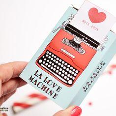 La Love Machine Box imprimable
