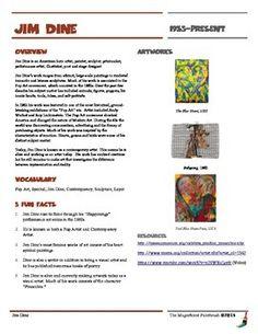 jackson pollock informational worksheet jackson pollock. Black Bedroom Furniture Sets. Home Design Ideas