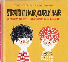 My Vintage Avenue !!! 50's and 60's illustrations !!!: Straight hair, Curly hair illustrated by Ed Emberley in 1966.