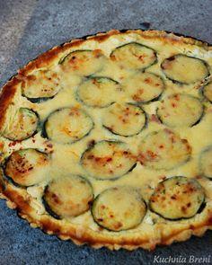 Tarta ze szpinakiem i cukinią - Babyshower, Zucchini, Salads, Food And Drink, Dishes, Meat, Vegetables, Kitchen, Recipes
