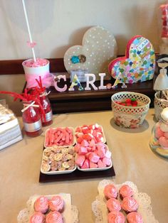 mesa dulce para carla