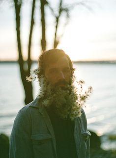Flower beard | Photo by Carissa Gallo