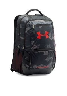 Under Armour Boys' Storm Hustle Ii Backpack - Black - One Size